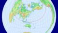 日本から見た世界の方位一覧:アメリカは北東?東?ヨーロッパは北西?西?2つの流派に対応しています。
